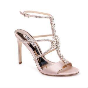 Badgley Mischka Blush Heels